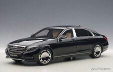 1:18 AUTOart - Mercedes Maybach S-Klasse S600 schwarz - Black