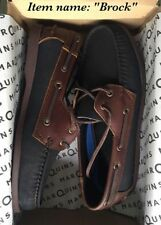 Leather Classic Boat Shoes for Men - Brock - Size 44 / 11