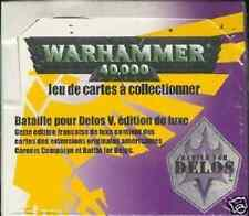 * WARHAMMER 40000 40 BOOSTERS  EDITION DE BASE BATTLE FOR DELOS VF
