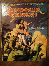 Mark Schultz Dinosaur Shaman Signed #'d 1425/1500 NM+ HC Xenozoic Tales OOP