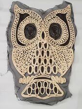 SEQUIN  owl animal kids hotfix Sew on Applique Motif Patch festival boho