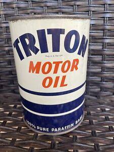 triton motor oil quart can union california