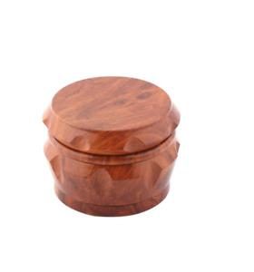 Grinder TritaTabacco Trita Erba Cannabis in Materiale Legno Wood 40mm
