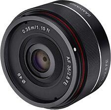 Samyang AF 35mm f2.8 Camera Lens for Sony FE New In Box