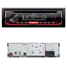 JVC kd-r792bt USB/CD-receptor Bluetooth autorradio a2dp Android Radio display rojo