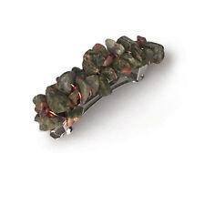 Unakite Nugget Barrette (50mm) BA481
