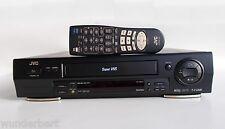 """S-VHS - """"JVC HR-s 6611 UE"""" grabadora de video (6) cabeza-magnetoscopios top-dispositivo"""