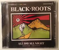 Black Roots 'All Day All Night' CD Nubian Records (2012) Roots Reggae Brand New