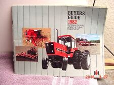 1982 INTERNATIONAL AGRICULTURAL EQUIPMENT BUYER'S GUIDE