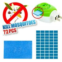 72x Mosquito Repellent Insect Bite Mat Tablets Refills Replace Pest Repeller