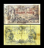 2x  50 Francs - Edition 1875 - 1879 - Reproduction - B 23