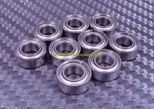 [QTY 10] S695zz 695zz (5x13x4 mm) 440C Stainless Steel Ball Bearing Bearings