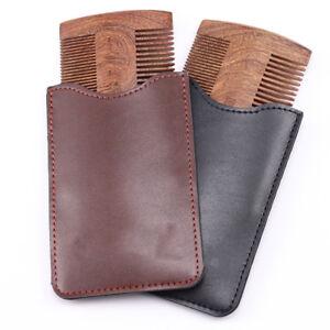 Handmade Sandalwood Anti-Static Wooden Comb Beard Mustache Hair Brush Hair Comb
