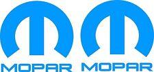 Mopar Sticker 255 x 240 Quality Stickers UV Marine Grade Material