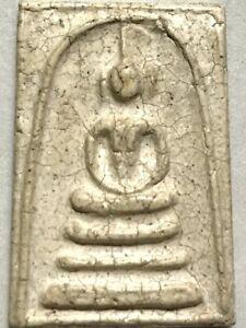 PHRA SOMDEJ LP RARE OLD THAI BUDDHA AMULET PENDANT MAGIC ANCIENT IDOL#477