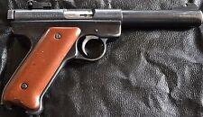 Ruger Mark 1 Mark I pistol grips smooth antique copper plastic
