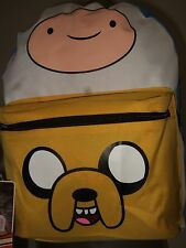Adventure Time Finn And Jake Suit Up BMO Case Hooded School Backpack Bag Costume