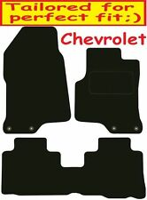 Chevrolet Captiva DELUXE QUALITY Tailored mats 2006 2007 2008 2009 2010 2011 201