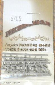Precision Scale N #6705 Air Hoses -- (Plastic Parts 24 pcs) 1:160th Scale
