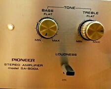 AMPLIFICATORE VINTAGE PIONEER SA 500A hi fi stereo phono amplifier retro 1971 75