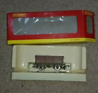 OO Gauge Hornby BR Mineral Wagon Stone Carrier B386001 20T weathered China boxed