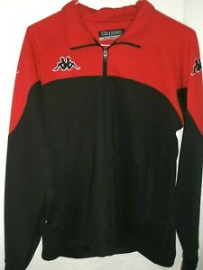 Unisex Kappa Red & Black Track Suit Jacket Size XL