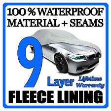 9 Layer Car Cover Breathable Waterproof Layers Outdoor Indoor Fleece Lining Fij