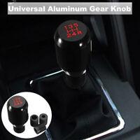 Car Black Aluminum 5 Speed Manual Shift Knob Gear Shifter Stick Nob Universal