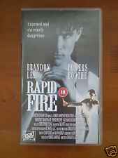 RAPID FIRE - BRANDON LEE, POWERS BOOTH [VHS] - BRAND NEW    **SALE**