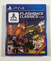 Atari Flashback Classics Vol. 3 PS4 (Sony Playstation 4, 2018) Shipped in a box