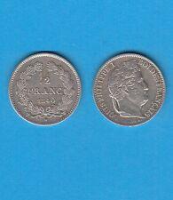Gertbrolen Louis-Philippe  Demi Franc argent 1840 Lille Caducée