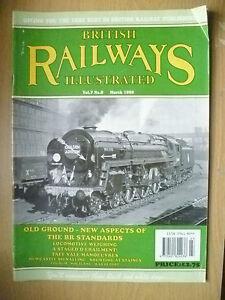 BRITISH RAILWAYS ILLUSTRATED MAGAZINE MARCH, 1998, VOL.7, NO.6