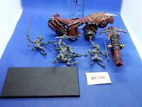 Warhammer Fantasy/40K - Chaos Daemons - Skull Cannon of Khorne Painted - WF316