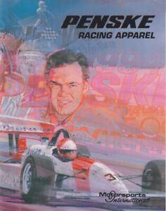 1994 Team Penske Racing Apparel Indy Car Catalog UNSER, JR. FITTIPALDI
