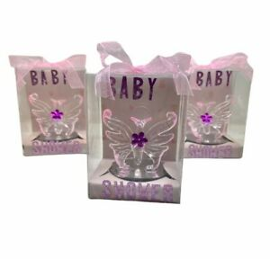 12 Crystal Butterflies Baby Shower Favors Girl & Boy Party Favors Butterfly