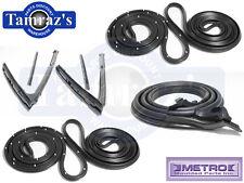 62-67 Chevy II Nova 4 Door Wagon Weatherstrip Seal Kit 7 Pieces Metro Brand New