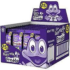 Cadbury Dairymilk  Fredo  Freddo18g  Bars of  10,20,30,40,50,60, Bar Box! Cheap