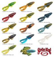 Strike King Rage Tail BABY Bug RGBBUG Any 13 Colors 3 Inch Creature Baits