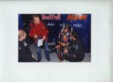 Arthur sissis Red Bull KTM AJO MOTO 3 Ritratto 2012 firmato fotografia 1
