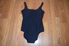 NEW Womens GOTTEX Black Textured One Piece Swim Suit Sz 12
