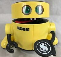 VTG Radio Shack ROBIE The Banker Tandy Robot Electronic Coin Bank Tested Works!