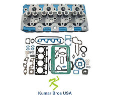 """New Aftermarket BOBCAT 1600 """"KUBOTA V1702 """"Complete"""" Cyl Head & Full Gasket Set"""