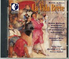 Manuel De Falla's LA VIDA BREVE - New-Sealed CD - 57.43 minutes