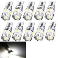 10xT10 501 194 W5W 5630 LED 6SMD Car HID Canbus Error Free Wedge Light Bulb Lamp