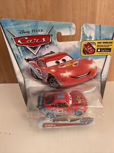 Disney Pixar Cars Ice Racer McQueen Diecast 1:55 Combine Post