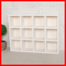 Timber Wall Shelf Display Cabinet Unit Crate Wooden Storage Hanging Box A10W