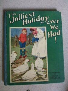 John Hassall 1905 Childrens - The Jolliest Holiday ever We Had!