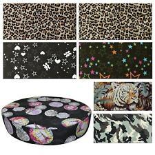 Round Box Shape Cover*Modern Cotton Canvas Chair Seat Pad Cushion Case *AL2
