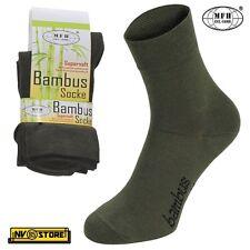 Calze Traspiranti Viscosa di Bambù MFH Socks Bambus 4 Stagioni Tecniche Sport OD