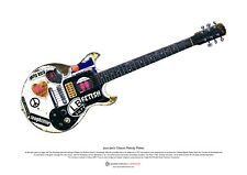 Joan Jett's Gibson Melody Maker ART POSTER A3 size